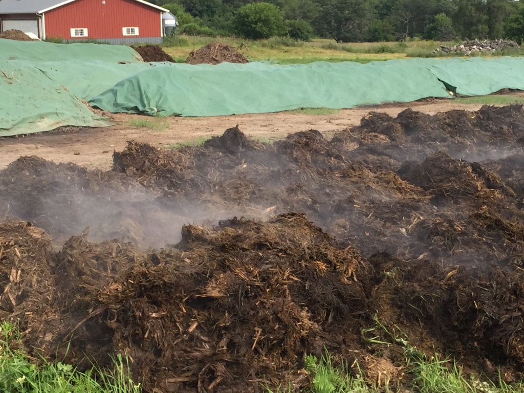 Grounded Compost Piles